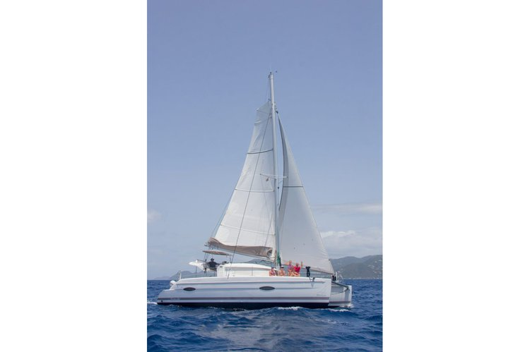 Fountaine-Pajot's 39.0 feet in Nanny Cay