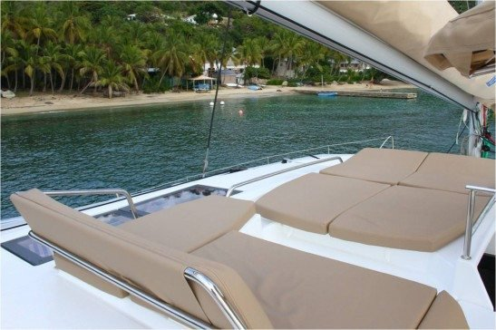 Boat for rent Fountaine-Pajot 43.0 feet in Nanny Cay,