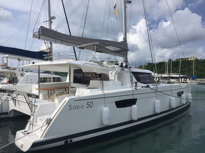 Fountaine-Pajot's 49.0 feet in Nanny Cay