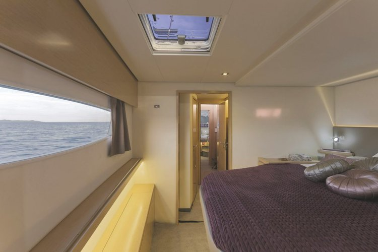 Discover Nanny Cay surroundings on this Saba 50 Fountaine-Pajot boat