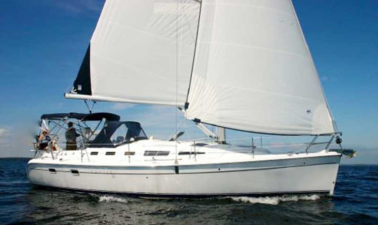 Explore the paradise sights in California aboard 38' Hunter