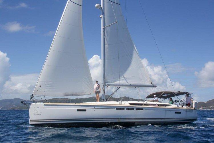 Jeanneau's 50.0 feet in Nanny Cay