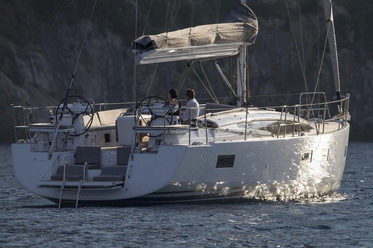 Jeanneau's 54.0 feet in Nanny Cay