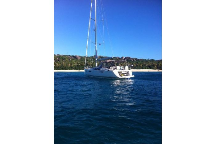 Boating is fun with a Jeanneau in True Blue