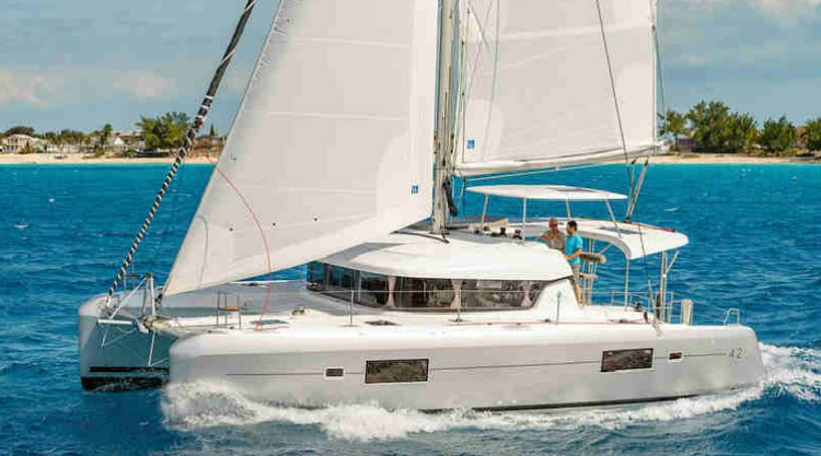 Awesome 46' Lagoon available for charter in California