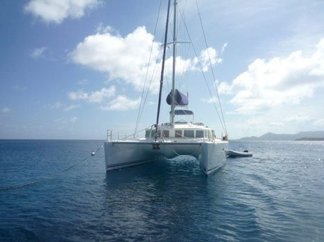 Sail through St. Vincent and the Grenadines aboard this perfect Lagoon