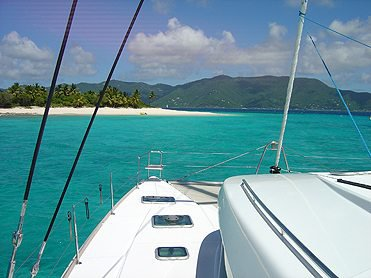 Boating is fun with a Lagoon in St. Vincent