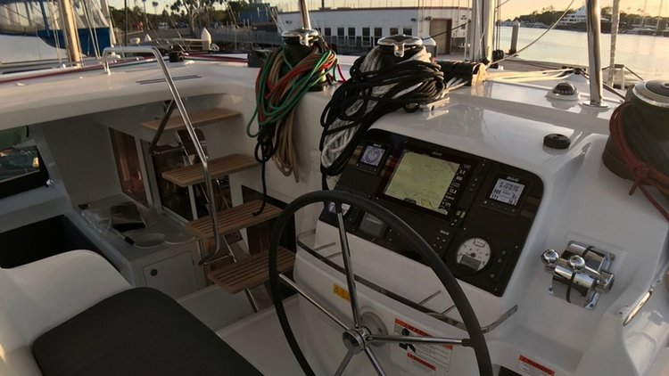 Catamaran boat rental in Long Beach, CA