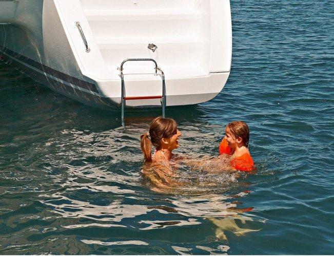Lagoon's 45.0 feet in Nanny Cay