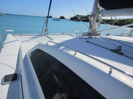 Catamaran boat for rent in True Blue