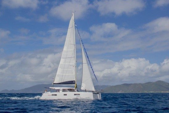 Sail through the British Virgin Islands aboard this luxurious Nautitech