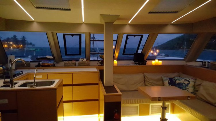 Boating is fun with a Catamaran in Nanny Cay