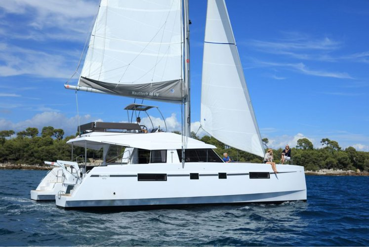 Explore the British Virgin Islands aboard this incredible Fly 46