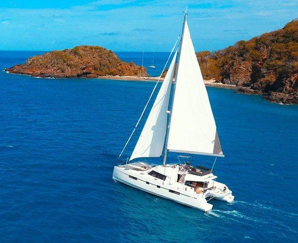 Experience the British Virgin Islands aboard this amazing Nautitech