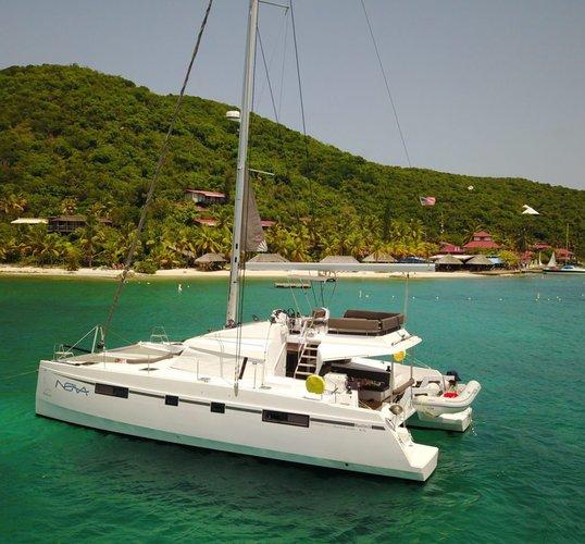 Nautitech's 45.0 feet in Nanny Cay