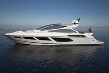 Charter this amazing 68' Sunseeker Predator in New York