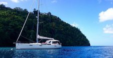 Sail through Grenada aboard this luxurious Beneteau