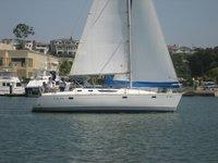 Set sail in California aboard this elegant cruising monohull