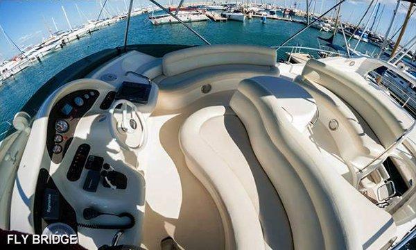 Boat for rent Azimut 49.0 feet in Laranca, Cyprus