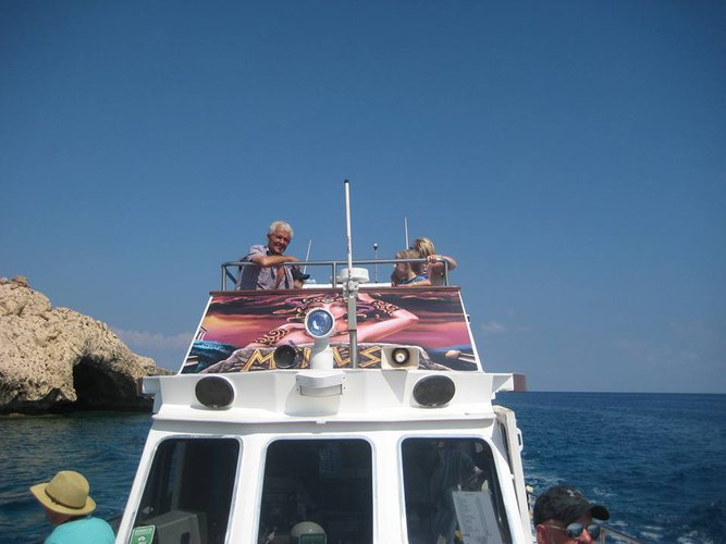 Discover Protaras surroundings on this Custom Custom boat