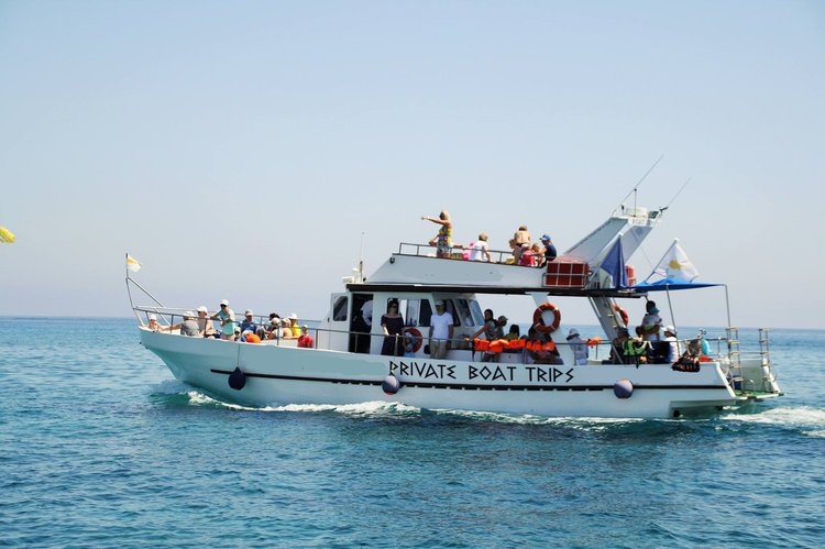 Explore Cyprus aboard this beautiful and cozy motor yacht
