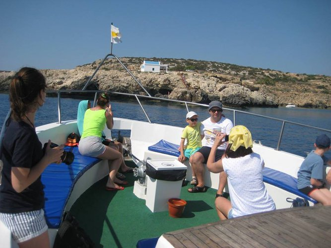 Motor yacht boat for rent in Protaras