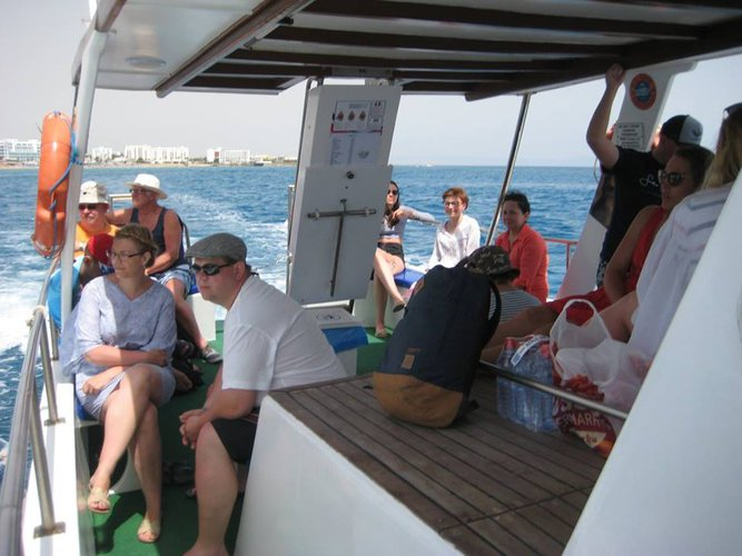 Discover Protaras surroundings on this Custom Custom boat