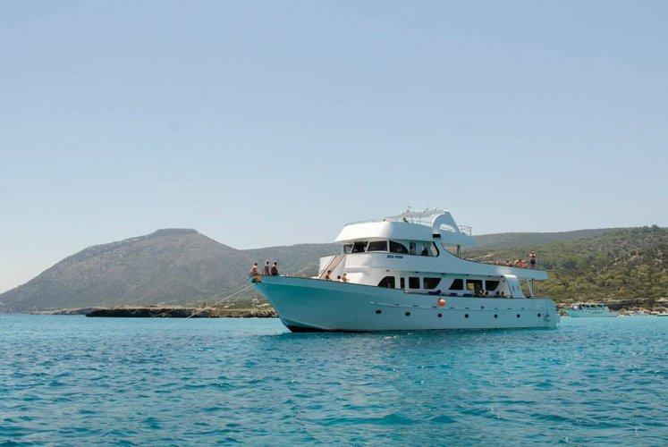 Motor yacht boat rental in Paphos, Cyprus