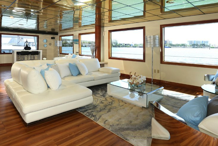 Mega yacht boat rental in Loggerhead Club & Marina - Hollywood, FL