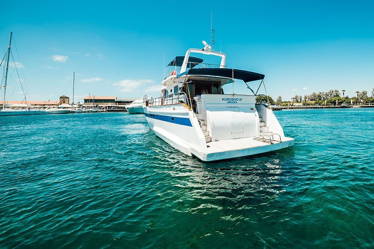 Boat rental in Paphos,