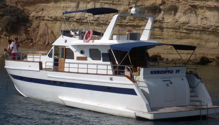 This 61.0' Custom cand take up to 30 passengers around Paphos