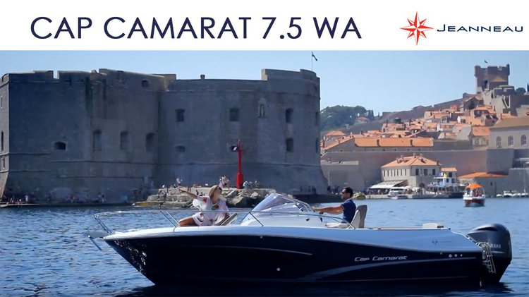 Daily Tour around Dubrovnik with brand new Cap Camarat 7.5 WA