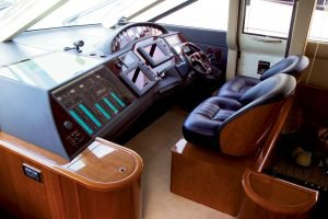 Motor yacht boat rental in Ayia Napa Harbour, Cyprus