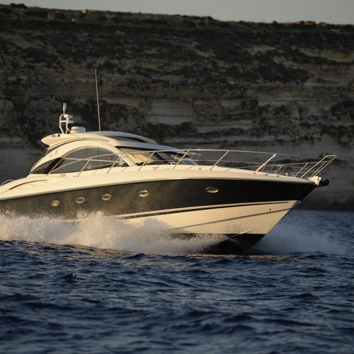 Grab this amazing deal & charter Sunseeker Camargue 50 in Malta