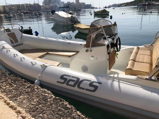 Boat for rent Sacs 22.3 feet in Msida,