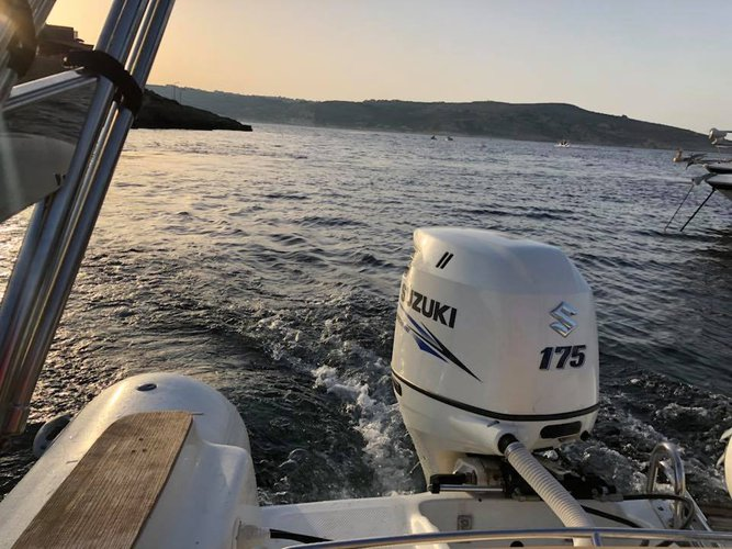 Boating is fun with a Inflatable outboard in Msida