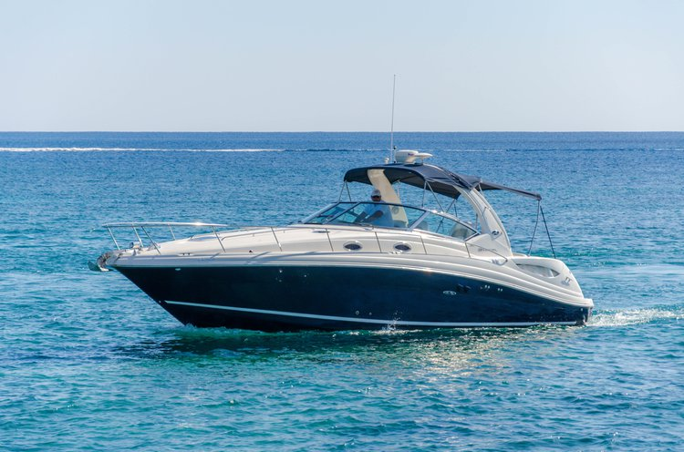 Elegant Sea Ray 375 available for charter in Ayia Napa, Cyprus
