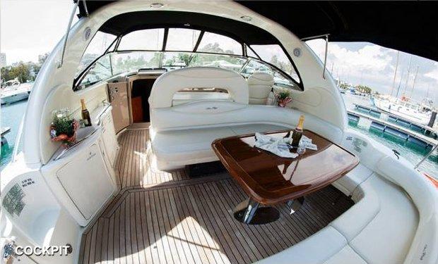 Motor yacht boat rental in Laranca,