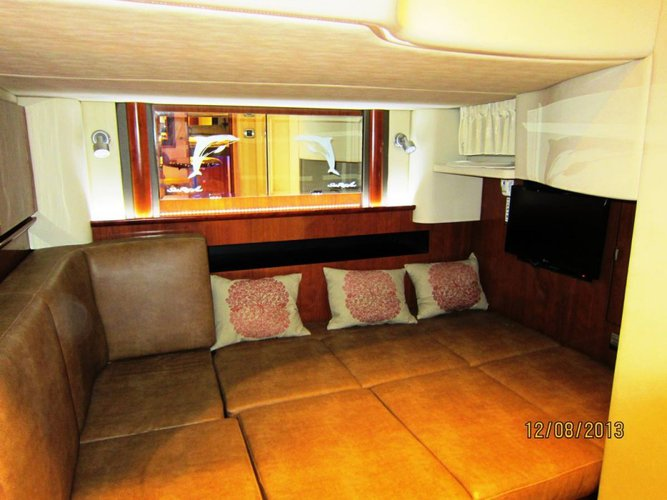 Discover Limassol surroundings on this 425 Sea Ray boat
