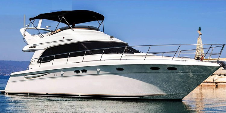 Enjoy Latchi, Cyprus aboard this luxurious Sea Ray 52