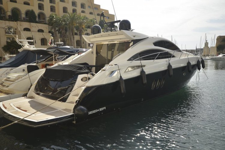 This 62.0' Sunseeker cand take up to 8 passengers around St Julian's