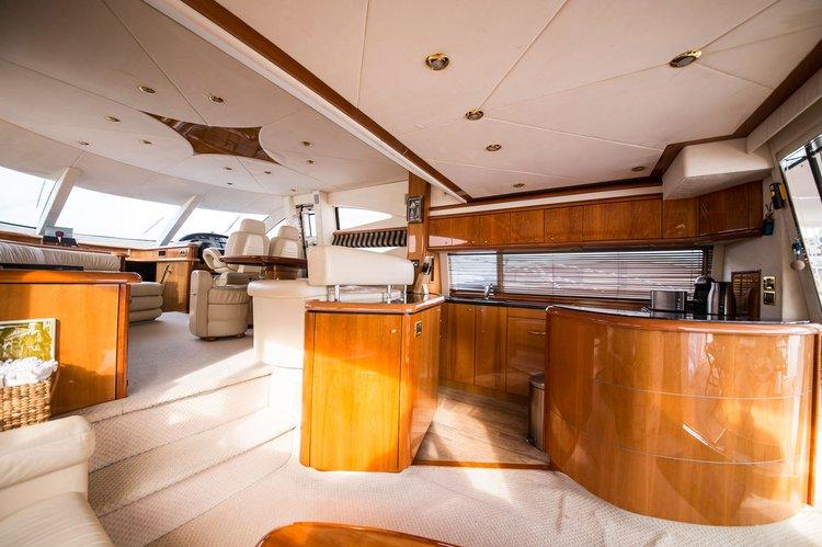 Motor yacht boat rental in Gzira, Malta
