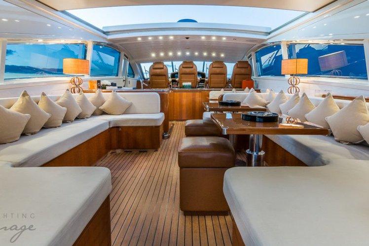 Mega yacht boat rental in Bayside Marina, NY