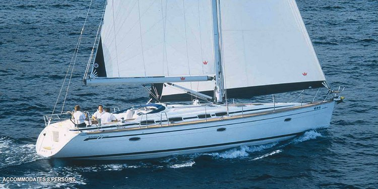 Fun in the Sun in Cyprus aboard 47 cruising monohull