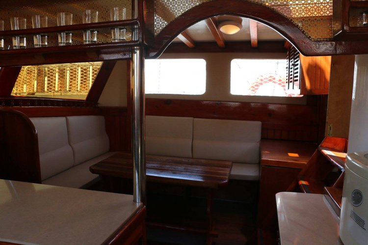 Discover Larnaca surroundings on this Custom Custom boat