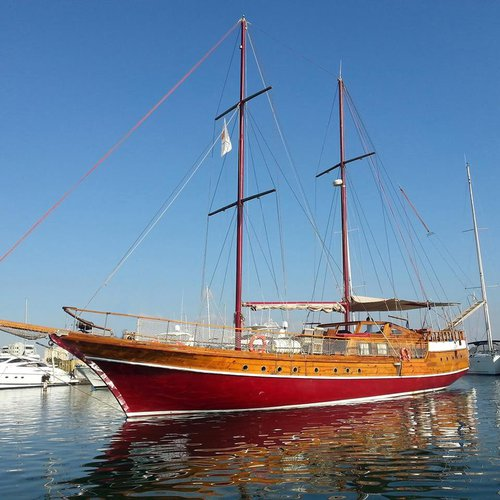 Make the special occasion very special aboard this classic sailing yacht