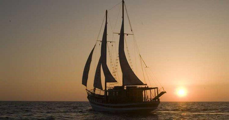 Schooner boat for rent in Paphos