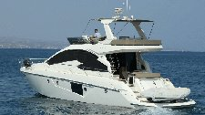 CHARTER 58' CRANCHI FLYBRIDGE CRUISER IN CYPRUS