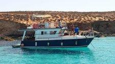 Charter this elegant motor yacht in L-Mgarr, Malta