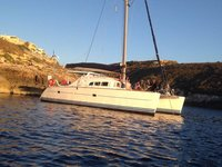 Have great time in Malta aboard this beautiful sailing catamaran